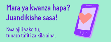 Swahili translation of VF Survey Banner / Register Now